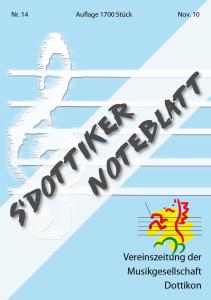 Titelblatt Noteblatt Nr. 14